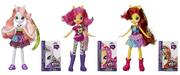 Cutie Mark Crusaders Equestria Girls Wild Rainbow dolls