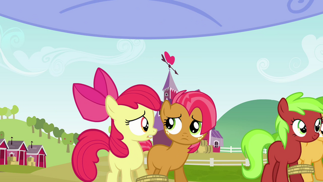 File:Apple Bloom and Babs Seed looking worried S3E08.png