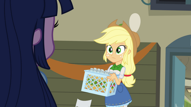 File:Applejack recognizes Twilight EG.png