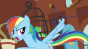 Rainbow Dash cutie mark error S03E13