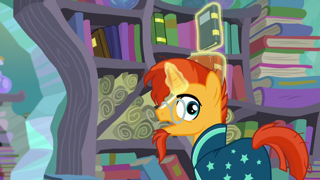 "File:Sunburst ""important wizard work to do around here"" S6E2.png"