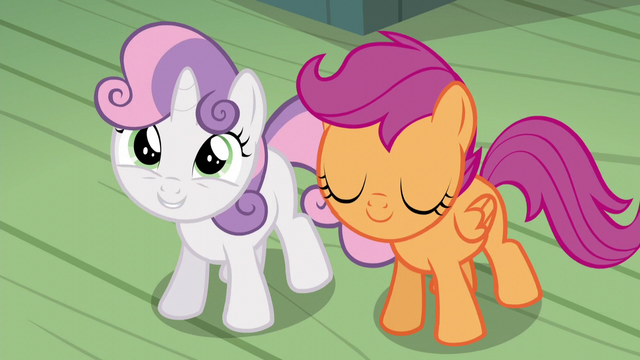 """File:Sweetie Belle """"she'll know she isn't alone!"""" S5E4.png"""