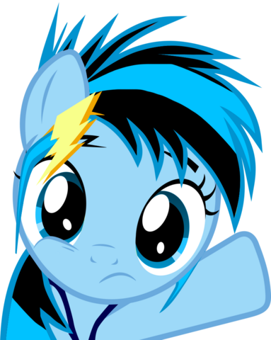 File:FANMADE Lightning Dash filly.png