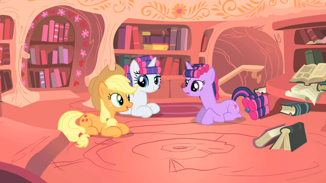 "File:Applejack ""are we gettin' any closer"" S1E08.png"