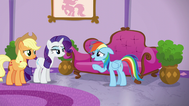 "File:Rainbow Dash ""not the froufrou kind"" S6E10.png"