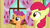 """Scootaloo """"nopony can just give you a cutie mark"""" S6E19"""