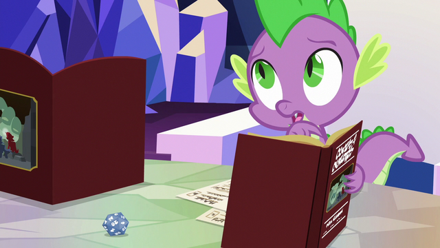"""File:Spike """"the guard gets mad"""" S6E17.png"""