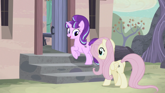 File:Starlight and Fluttershy walking to Starlight's house S5E02.png