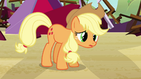 "Applejack ""can't take it in front of the barn"" S3E8"