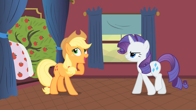 File:Applejack and Rarity S1E21.png