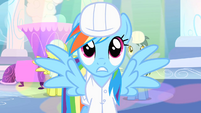 Rainbow Dash surprised S1E16