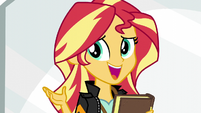"Sunset Shimmer ""like Applejack said"" EG3"