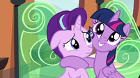 Twilight excited; Starlight nervous S6E1