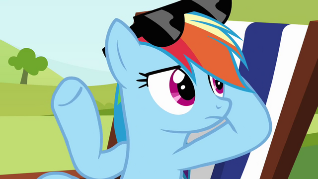 File:Rainbow Dash 'That you were just at Applejacks' S3E3.png