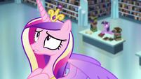 Cadance's worried expression S6E2