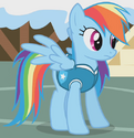 Rainbow Dash weather team ID S1E11