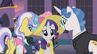 Rarity puppy eyes S2E9