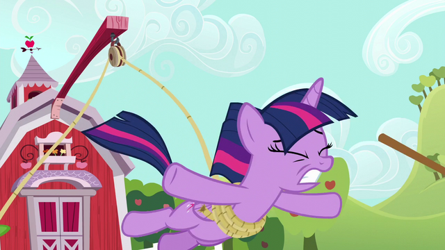File:Twilight Sparkle falls toward the mud S6E10.png