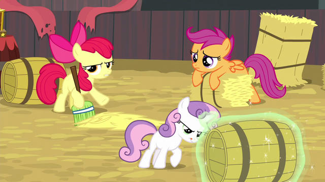 "File:Apple Bloom gripes ""ain't it bad enough"" S5E6.png"