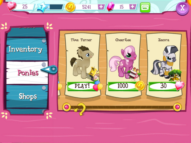 File:Buying Cheerilee MLP Game.png