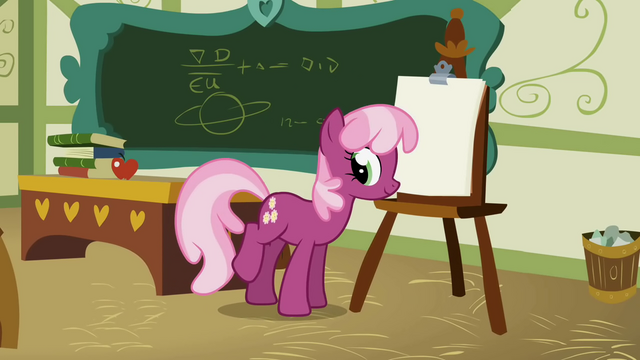 File:Cheerilee beginning the lesson S1E12.png
