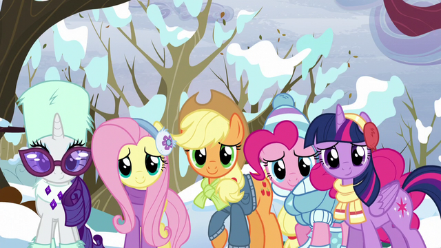 File:Twilight and friends looking at Tank S5E5.png