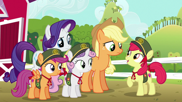 "File:Apple Bloom ""let's get started!"" S6E15.png"