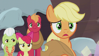 "Applejack ""the same traditions right away"" S5E20"
