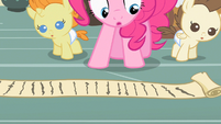 Pinkie Pie quite the list S2E13