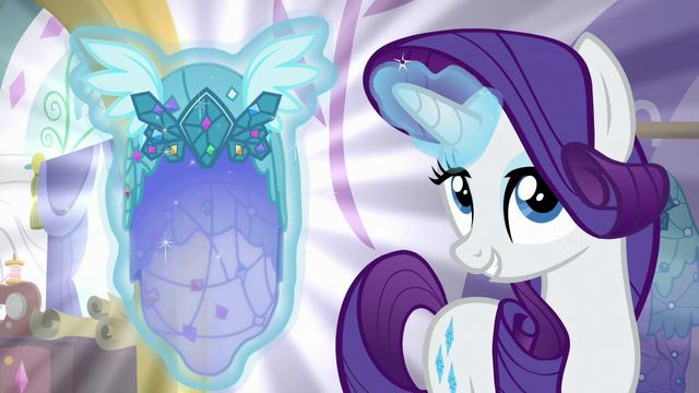 File:Rarity presents Posh Pony's Princess Dress S5E14.png