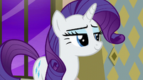 Rarity with a proud smile S6E12