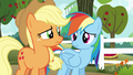 AJ and Rainbow look at each other confused S6E18.png