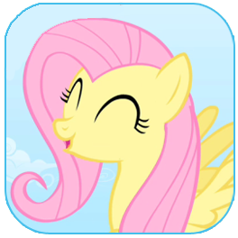 File:FANMADE Fluttershy Icon.png