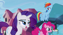 "Rarity ""we never hear a peep out of you"" S4E25"