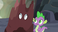 Rarity thanking Spike S6E5