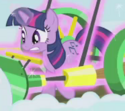 Twilight with Noteworthy's cutie mark ID S1E11