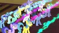 Unicorns being drained of magic S4E25