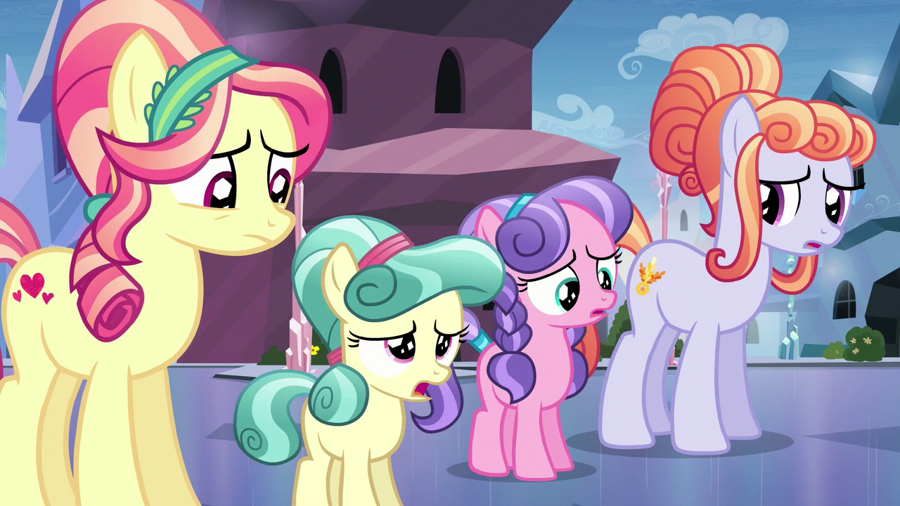 Image - Crystal Ponies disappointed S6E1.png   My Little
