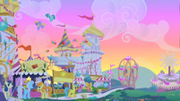 Twilight Sparkle's flashback of Canterlot S1E23