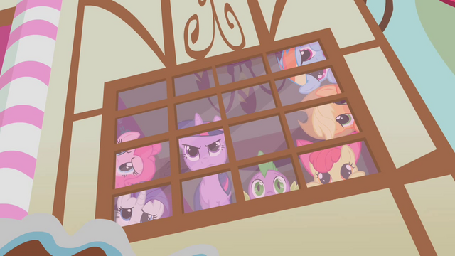 File:Twilight looking out the window defiantly S1E9.png