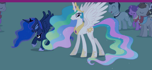 File:Princess Luna and Princess Celestia at Royal Wedding S2E26.png