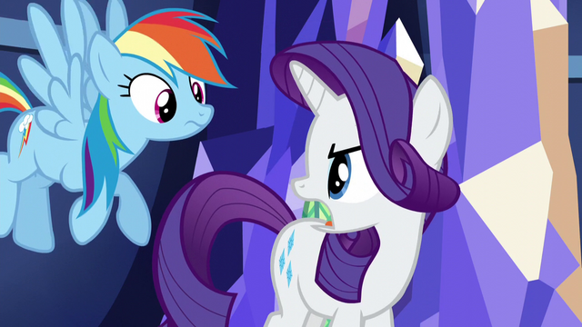 "File:Rarity ""all her Rainbow Dash trophies?"" S5E3.png"