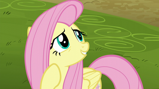 "File:Fluttershy ""it was a garden hose"" S5E22.png"