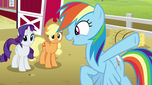 """File:Rainbow Dash """"every house in Ponyville!"""" S6E15.png"""