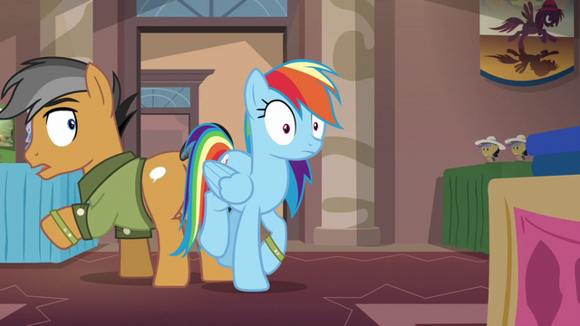 File:Rainbow Dash bumps into Quibble Pants S6E13.png