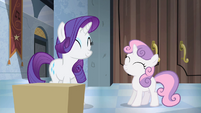 Rarity and Sweetie Belle happy again S4E19