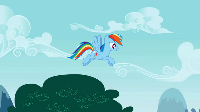 File:Rainbow Dash flying slowly S01E05.png