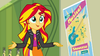 "Sunset Shimmer ""Principal Celestia would let you sign up"" EG2"