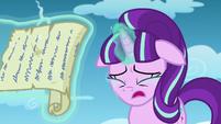 Tears down on Starlight's face S5E26