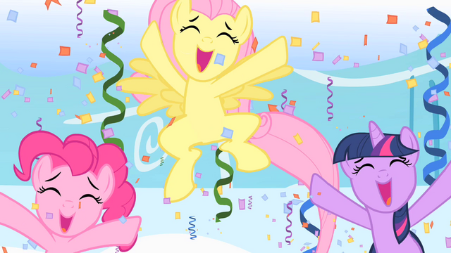 File:Cheering ponies S1E16.png